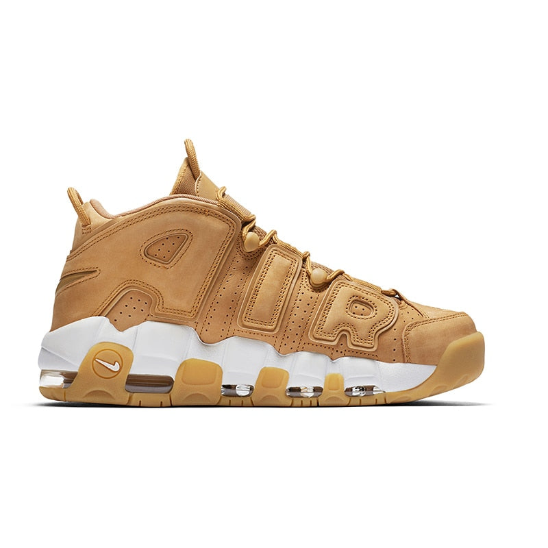 new arrival 551ee a1345 Nike Air More Uptempo OG Men s Breathable Basketball Shoes Sport Sneakers  Athletic Designer Footwear 2018 New