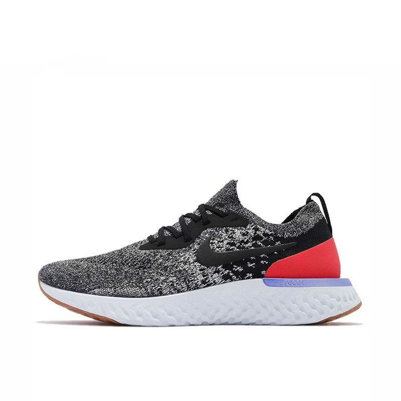 d15beec686b Epic React Flyknit  Red Orbit . Sale. Original Authentic NIKE Epic React Flyknit  Mens Running Shoes ...