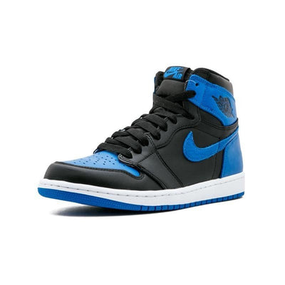 Nike Air Jordan 1 OG Retro Royal AJ1 Mens Basketball Shoes Breathable Outdoor Comfortable Sneakers For Men Shoes #555088-007