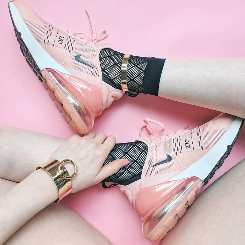 best loved 0735f 000e6 Original Authentic NIKE Air Max 270 Women s Running Shoes Sport Outdoor  Sneakers Comfortable Breathable 2018 New