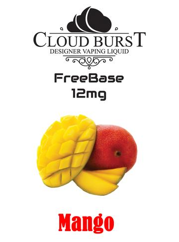 Cloudburst Freebase MTL 12mg Mango