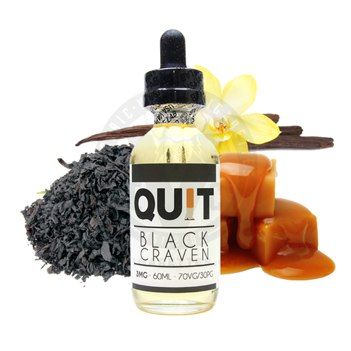 quit black craven 3mg 60ml