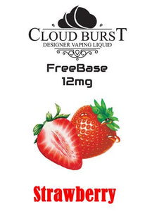 Cloudburst Freebase MTL 12mg Strawberry