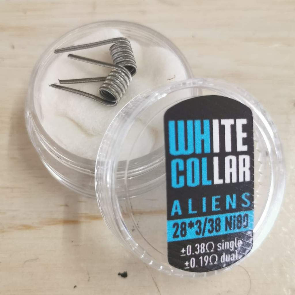 White Collar Aliens 3*28/38 6 wrap