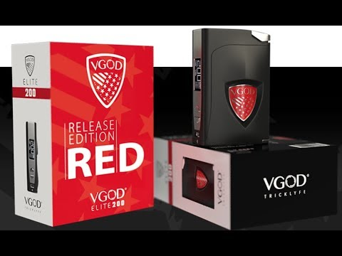 VGOD Elite 200w Red Edition