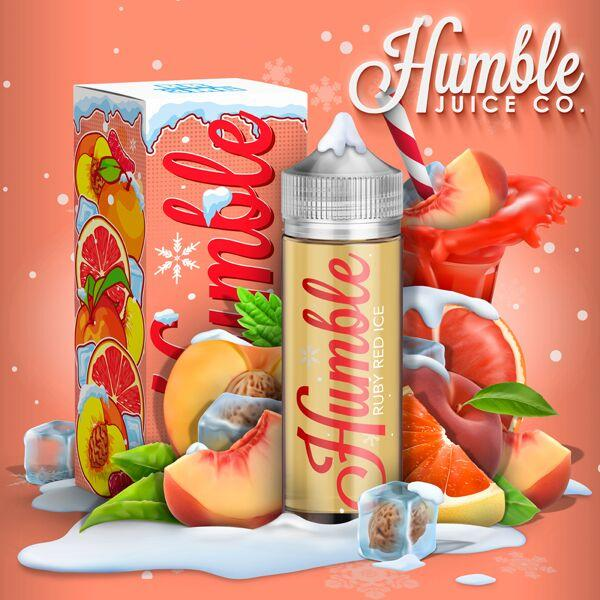 Humble Ice Ruby Red 0mg 120ml