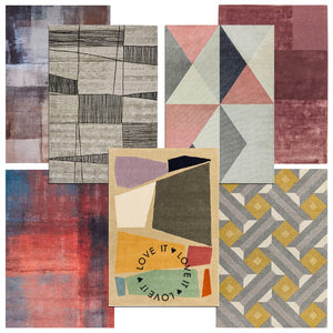 Bold Cubist-Style Rugs