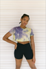 CROP TOP TIE DYE SUNSET