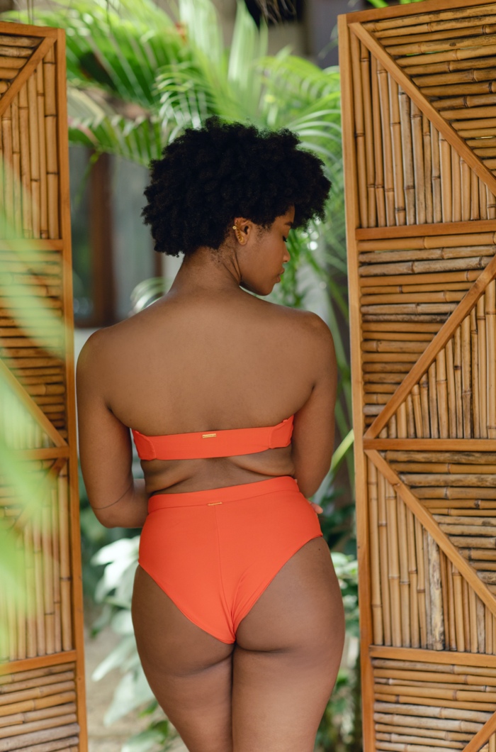 Aura Top Sunset Orange