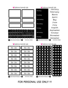 Beginner's Essentials- FREE PRINTABLE