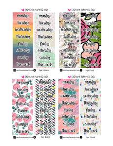 Day Headers-PRINTABLE