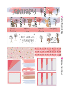Erin Condren Monthly Kits, Jan-March