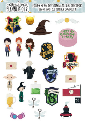 Harry Potter Deco Sheet,Physical