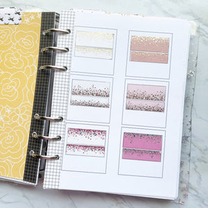 Washi Swatch Album