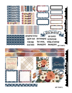 Thankful Weekly Kit-PRINTABLE