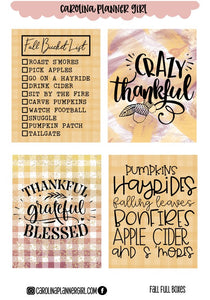 Fall Deco Full Boxes-PRINTABLE
