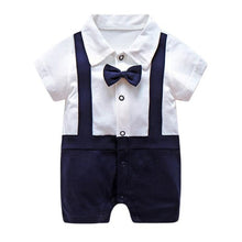 Load image into Gallery viewer, Baby Boy - Bow Tie Outfit