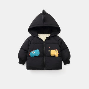 Children's Winter Warm Cotton Jackets Boys Girls