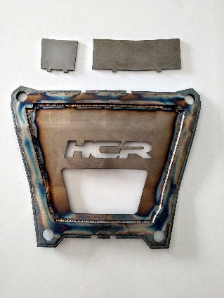 RZR Turbo S Back Plate with weld in tabs.