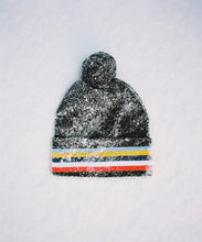 Load image into Gallery viewer, BOBBLE BEANIE - BLACK
