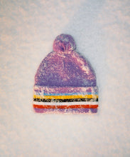 Load image into Gallery viewer, BOBBLE BEANIE - PURPLE