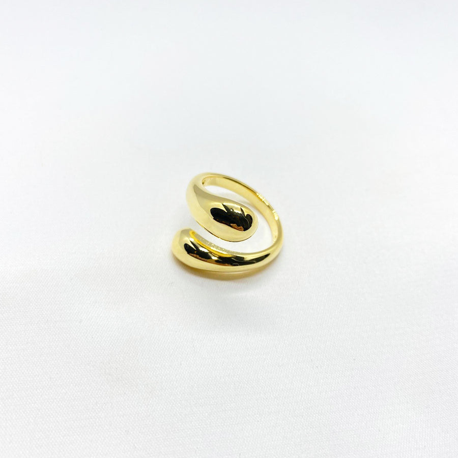 gold plain ring