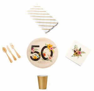 50th Birthday Party In A Box