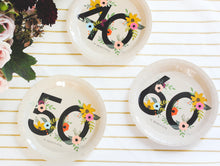 Load image into Gallery viewer, 60 is Beautiful Birthday Party Plates