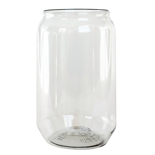 Clear Disposable Beer Can