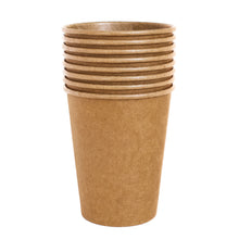 Load image into Gallery viewer, Natural Kraft Paper Cups