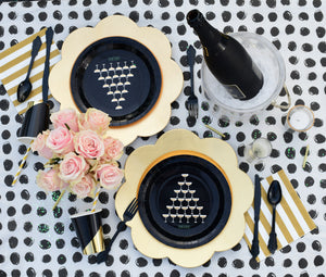 Black Fancy Utensils