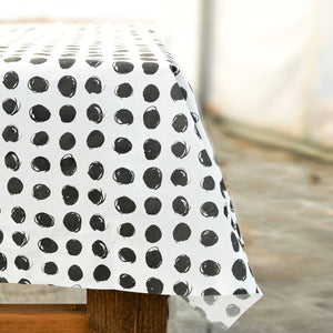 Dotty Paper Tablecloth
