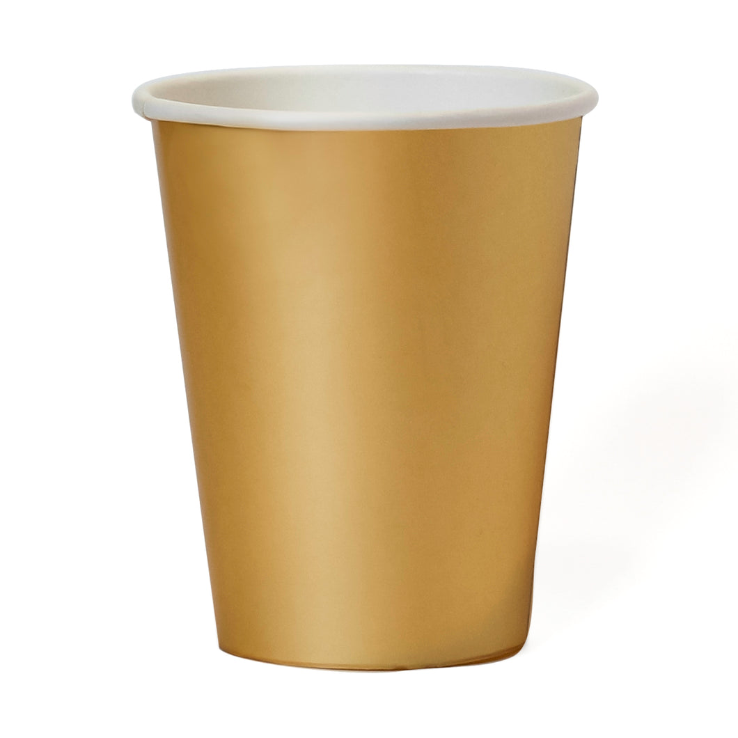 Gold Paper Cups