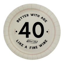 Load image into Gallery viewer, Mature Club 40th Birthday Party Plates