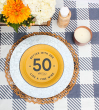 Load image into Gallery viewer, Mature Club 50th Birthday Party Plates