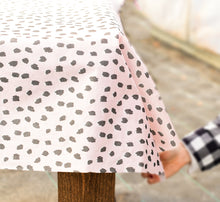 Load image into Gallery viewer, Blush Spotted Tablecloth