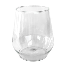 Load image into Gallery viewer, Clear Disposable Stemless Wine Glass