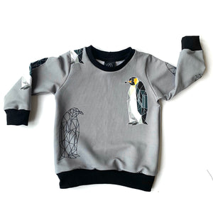 Geo Penguin Jumper (12 months & upwards)