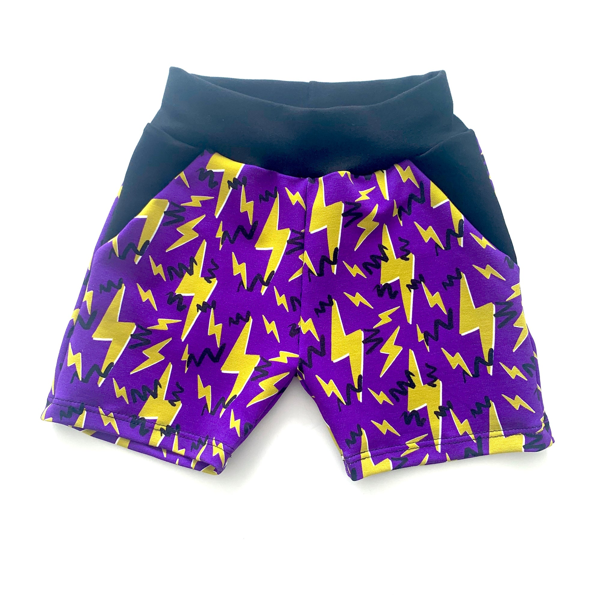 Jazzy Bolts Shorts Full Pattern