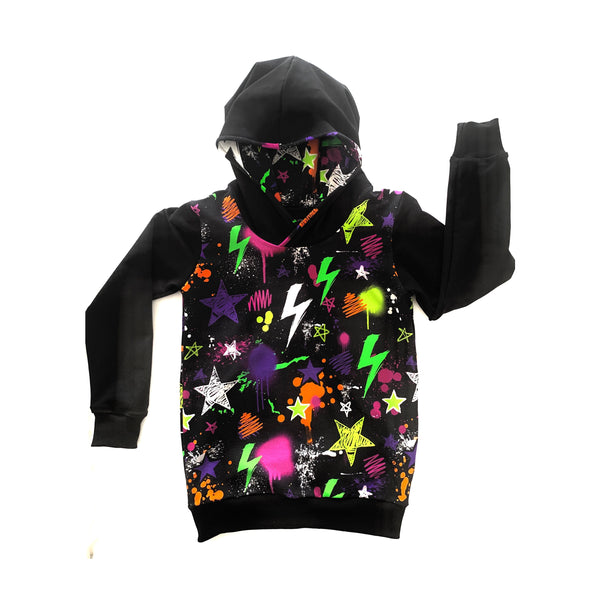 Neon Party Hoodies