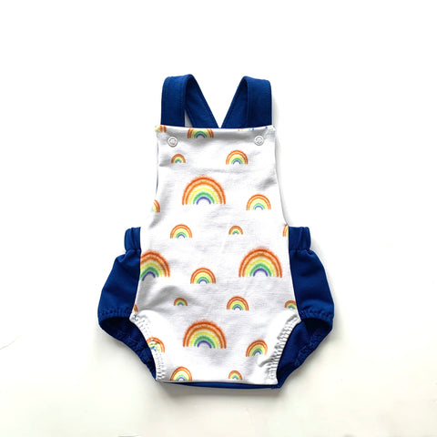 Rainbows Summer Dungarees
