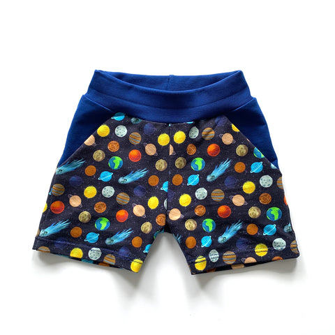 Planets Shorts Full Pattern