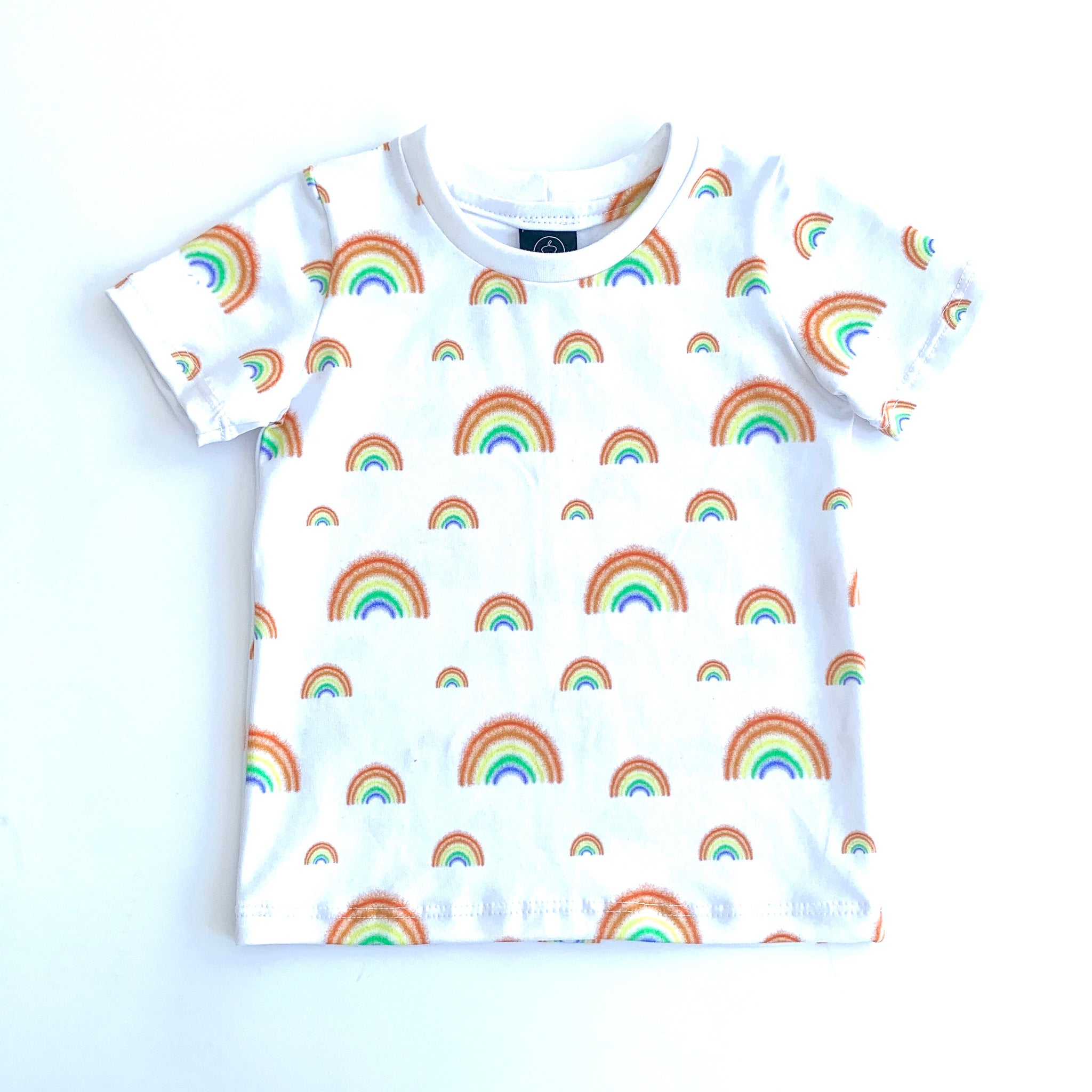Rainbows T-shirts Full Pattern