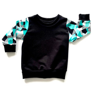 Teal Reflections Jumper