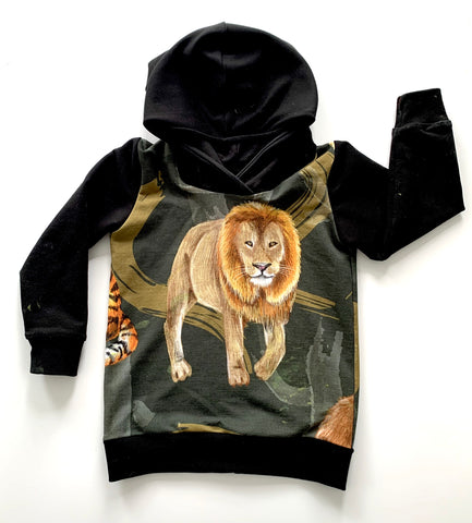 Grrr! Lion Hoodies