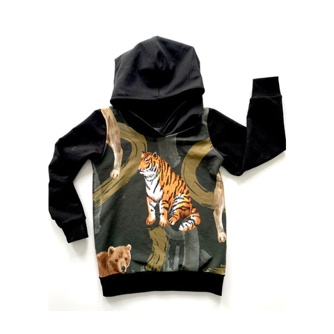 Grrr! Tiger Hoodies