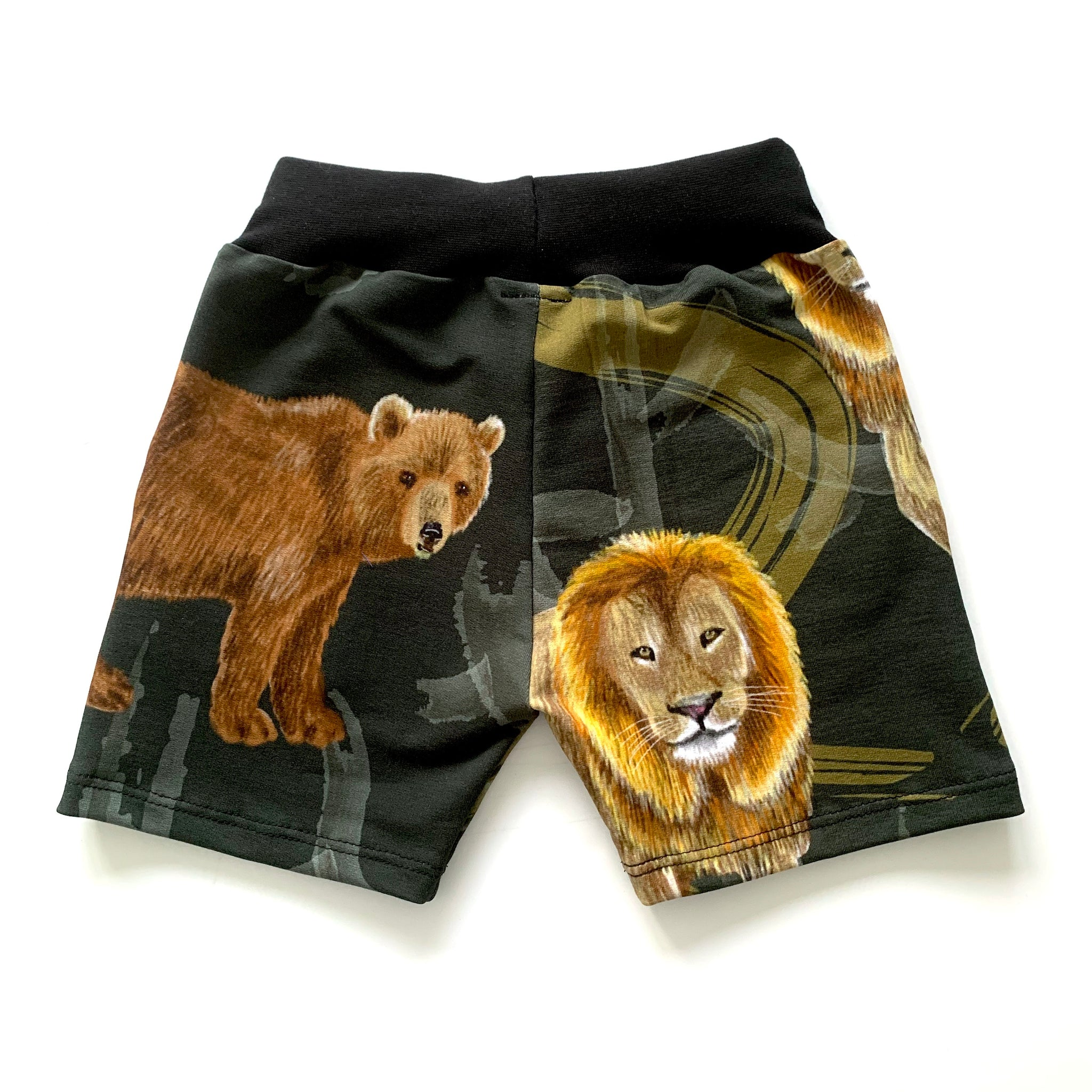 Grrrr! Shorts Full Pattern