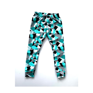 Teal Reflections Leggings