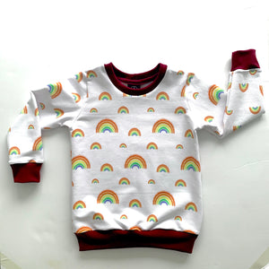 Rainbows Jumper Full pattern