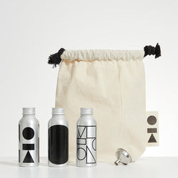 black travel kitbag
